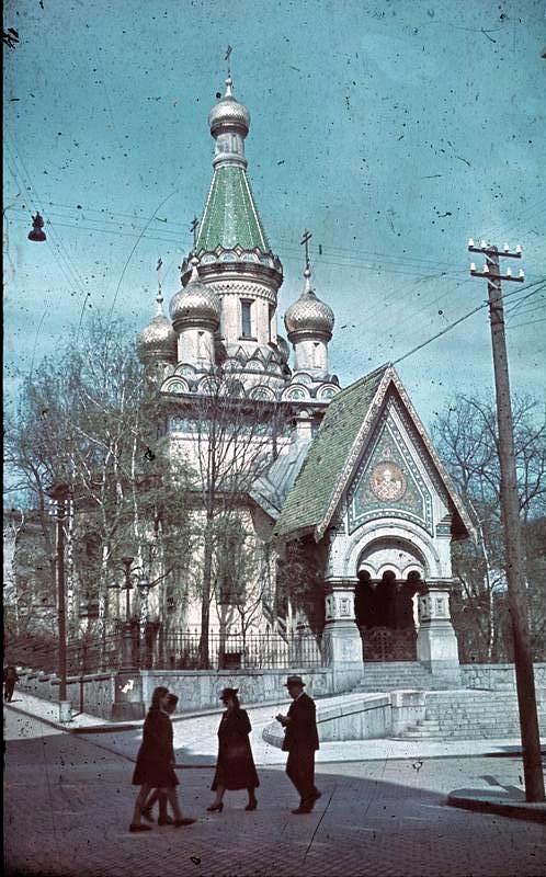 Sofia, russische Kirche Sankt Nikolai