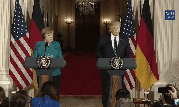 Меркел срещу реалността и Доналд Тръмп