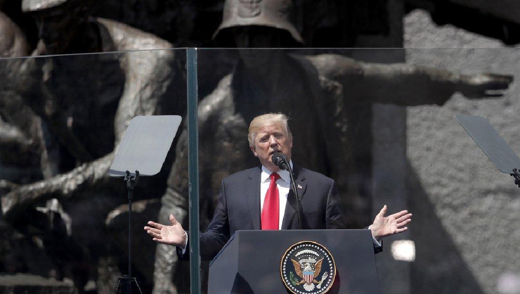 Речта на президента Доналд Тръмп във Варшава