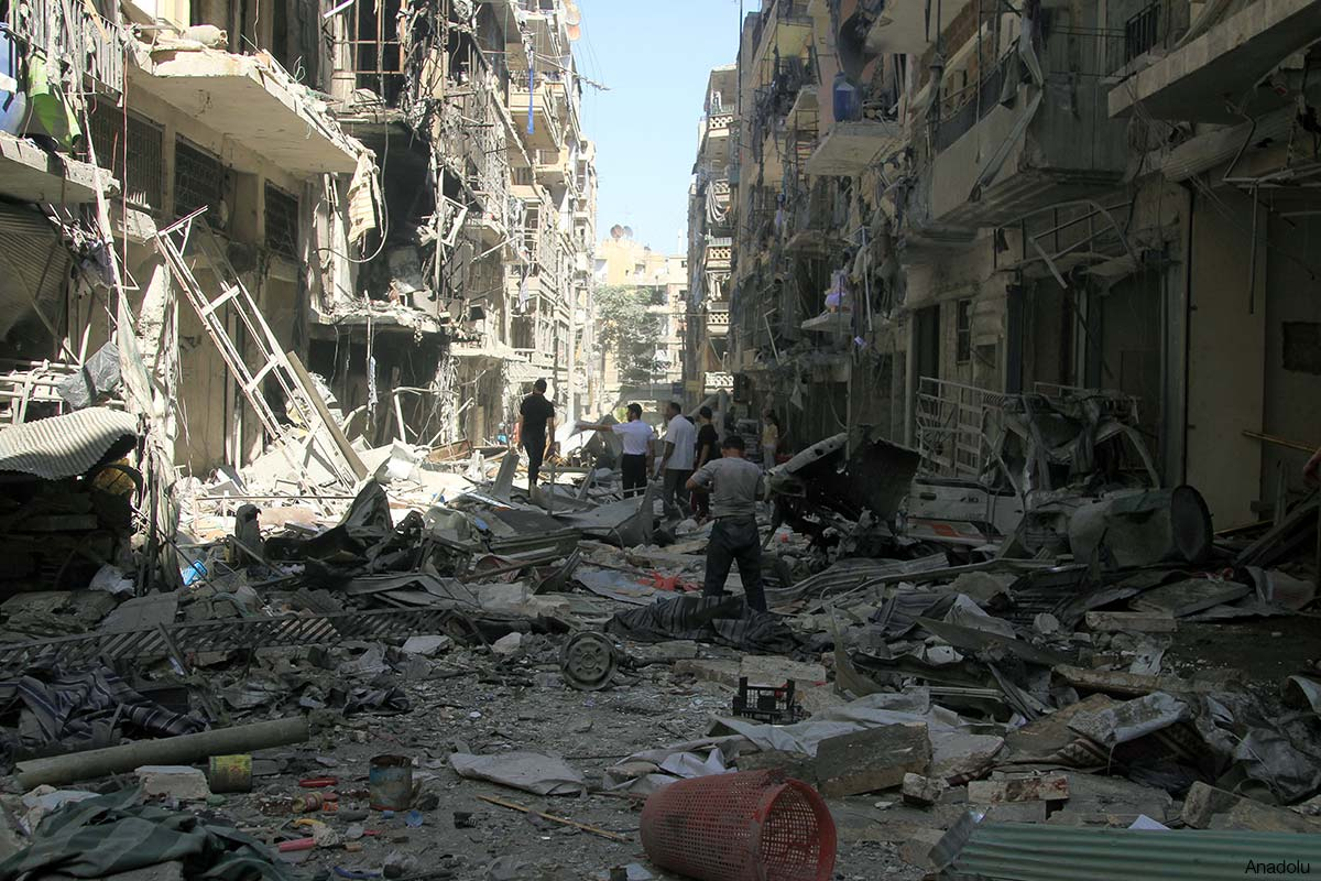 Syrian War Destruction