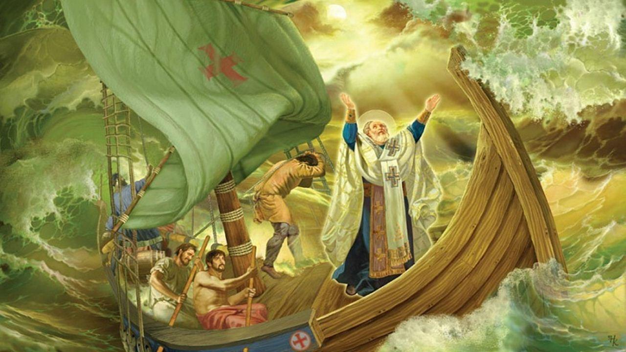 6 декември: Свети Николай Мирликийски Чудотворец