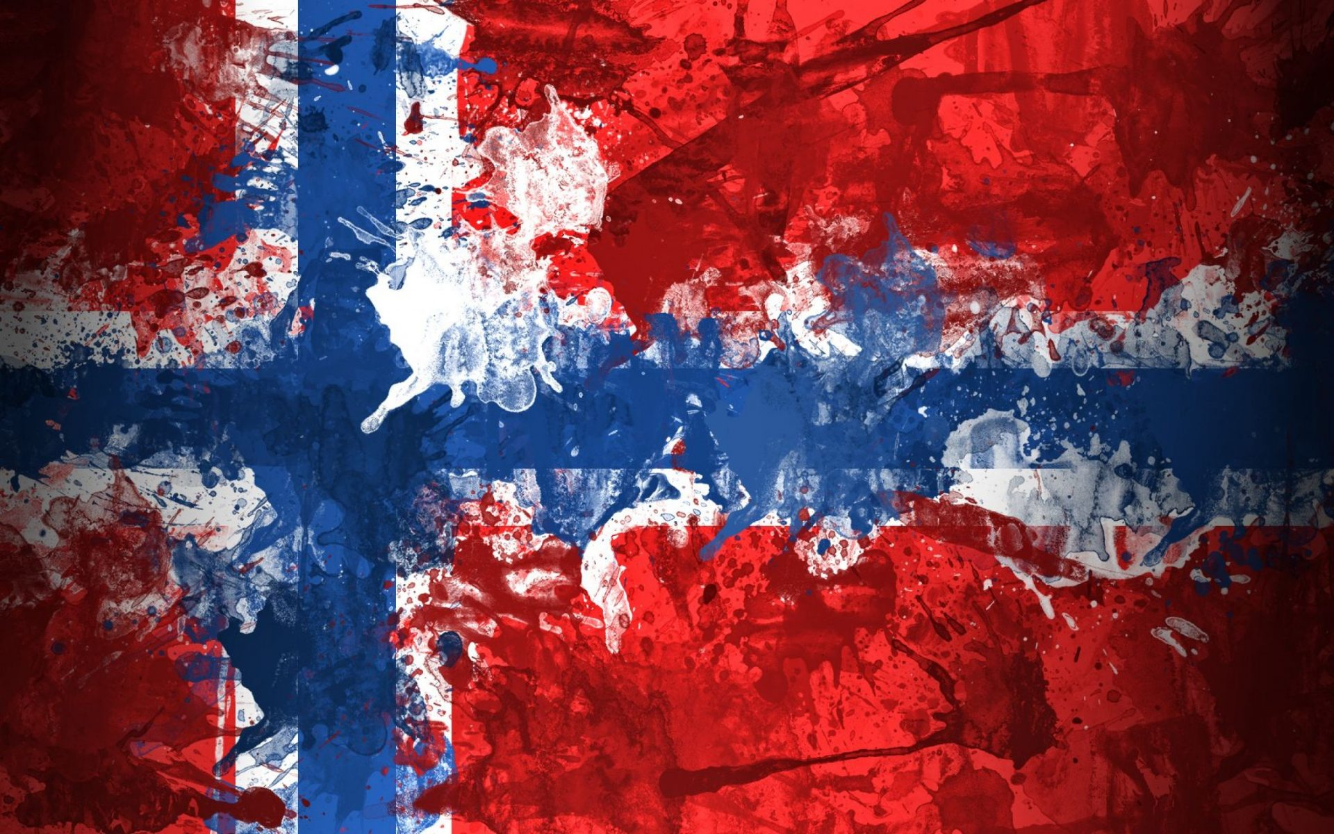 Новата политическа карта на Норвегия
