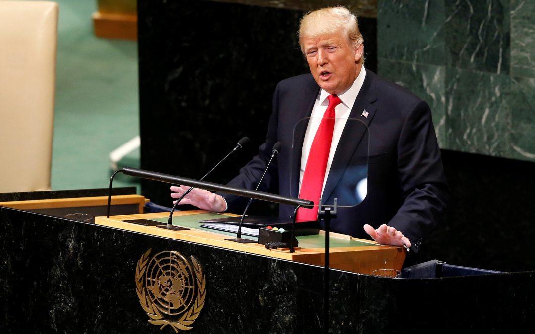 Речта на Тръмп пред нациите на света