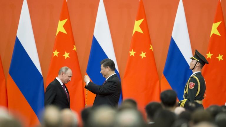 Тихо и кротко Китай поглъща Русия
