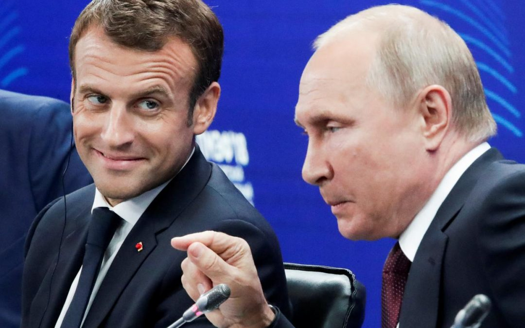 Путин и Макрон – враговете на Северна Македония