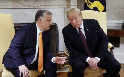 Орбан между двете Америки