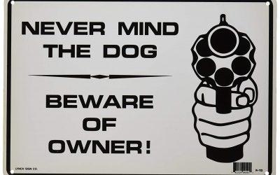 Кучето няма значение, пази се от собственика!