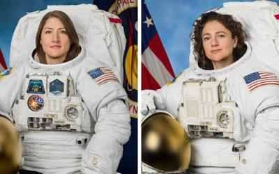 Една женска космическа разходка разобличи двойните стандарти в отношението към политиците