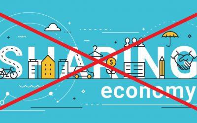 Властта vs споделената икономика
