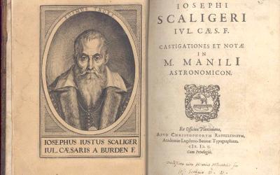 Жозеф Скалигер и приносът му за хронологията
