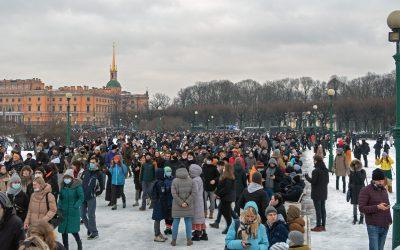 Протестите в Русия