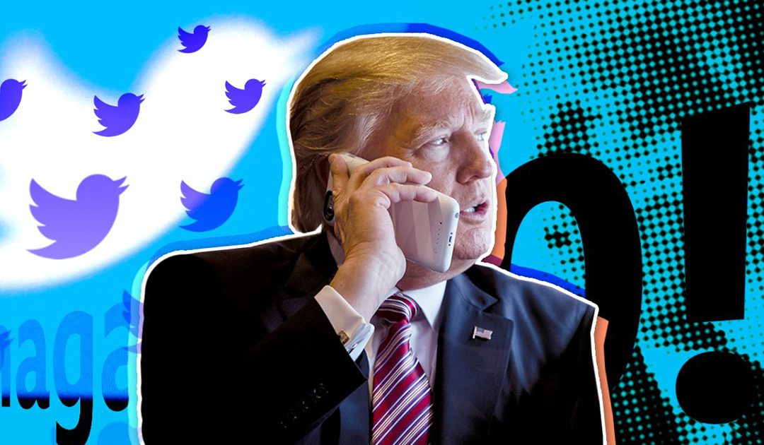 Блокираният Тръмп